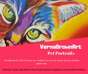VernaBrownArt is exhibiting at The Health and Wellness Show