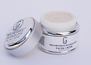 50 ml Face Cream in Glass / Aluminum Container
