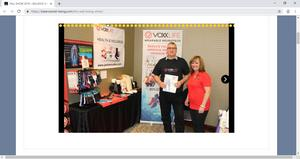VoxxLife is exhibiting at The Health and Wellness Show
