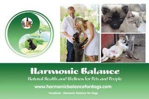 Harmonic Balance Natural Health and Wellness for Pets and People is exhibiting at The Health and Wellness Show