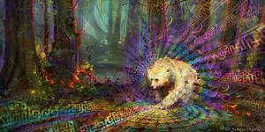Artwork by Simon Haiduk - 'Spirit Bear'