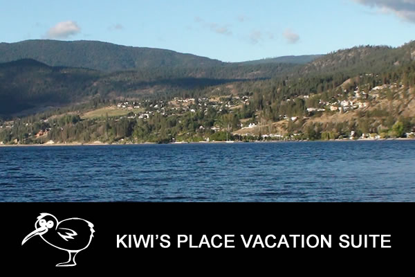 Kiwi's Place Vacation Suite - Peachland BC